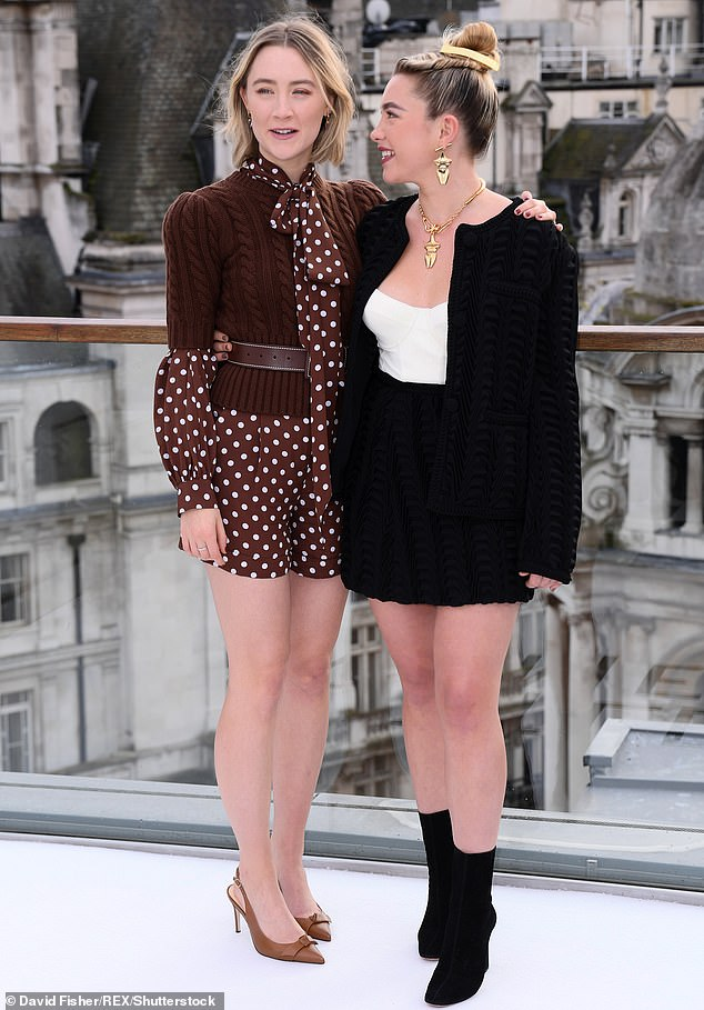 Florence Pugh and Saoirse Ronan reveal they had off-screen 'fights' to get into Little Women roles | Daily Mail Online
