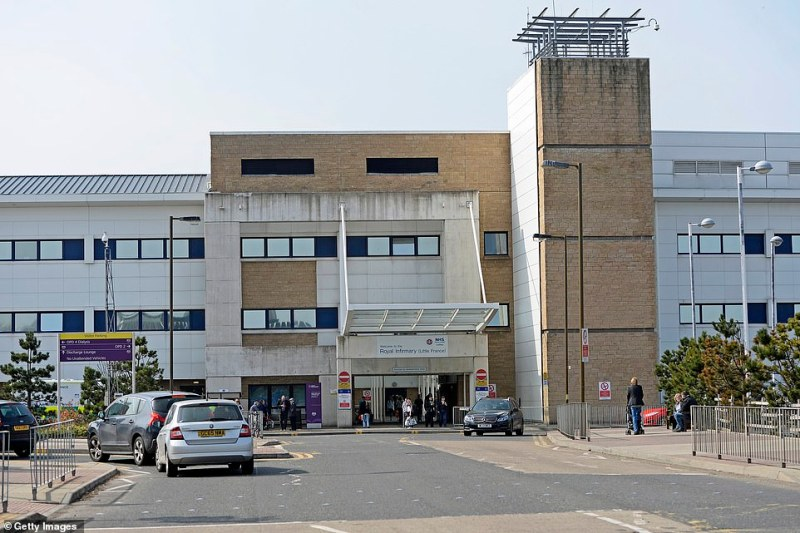 The other patient in Scotland was being treated in Edinburgh, thought to be at the city's Royal Infirmary (pictured)