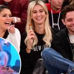 Pete Davidson Looks In Good Spirits As He Laughs And Jokes With Friends At Basketball Game Daily Mail Online