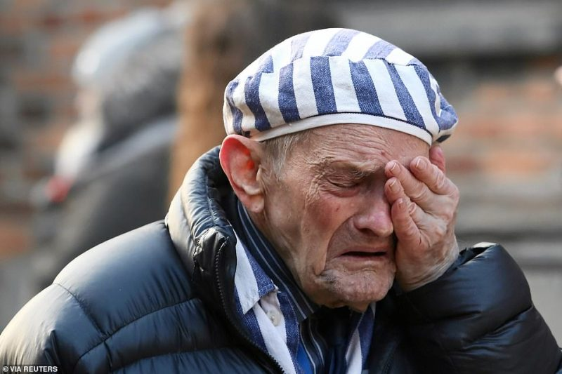 It is an emotional day for many of the elderly survivors for whom memories of being detained, tortured and the loss of loved ones remain raw decades on from being freed