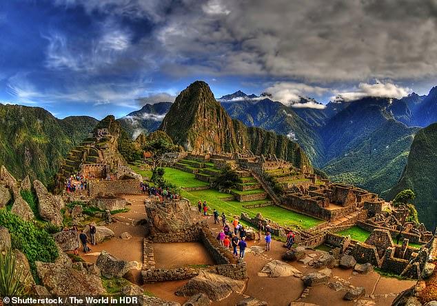 South America: Machu Picchu is a tourist highlight in southern Peru