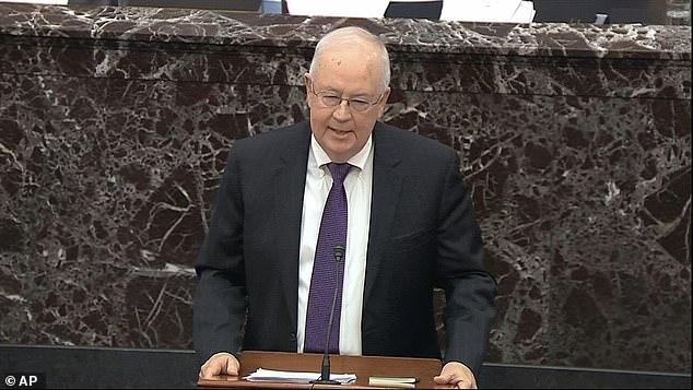Ken Starr says impeachment is DIFFICULT in an extraordinary Senate speech