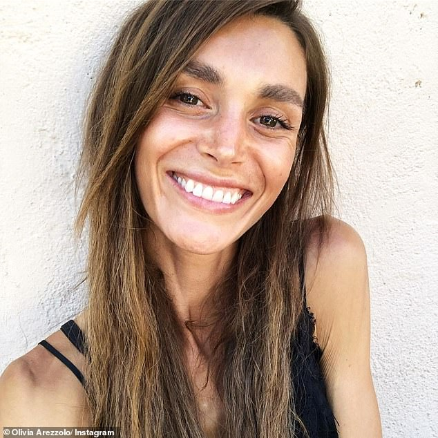 When it comes to how she manages her thin hair, Olivia (pictured) said she is a huge fan of Auki's Black Seed Oil - which the Kardashians swear by