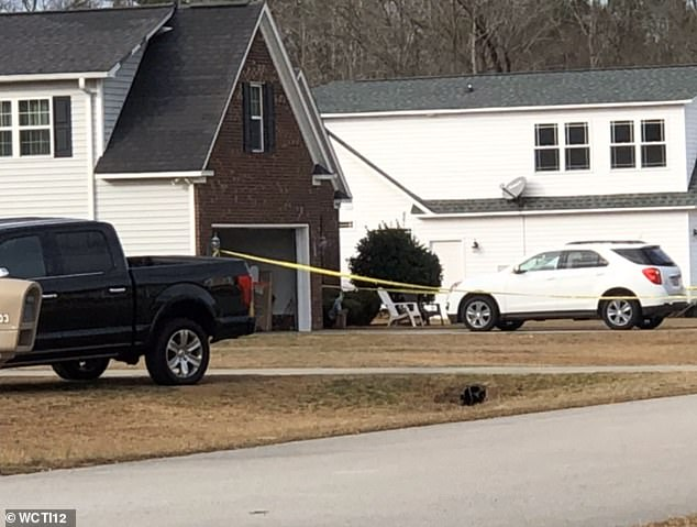 Family were found dead inside their home near Vanceboro (pictured) on Friday after a relative requested a welfare check