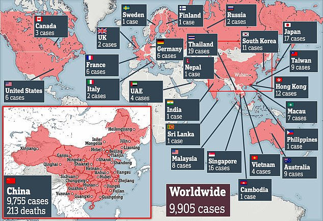 China coronavirus: new cases in Sweden, Russia and France | Daily ...