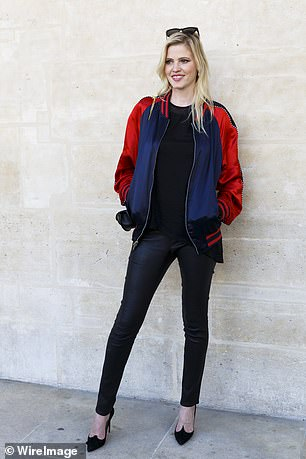 Model Lara Stone, pictured, is a fan of Carcassonne