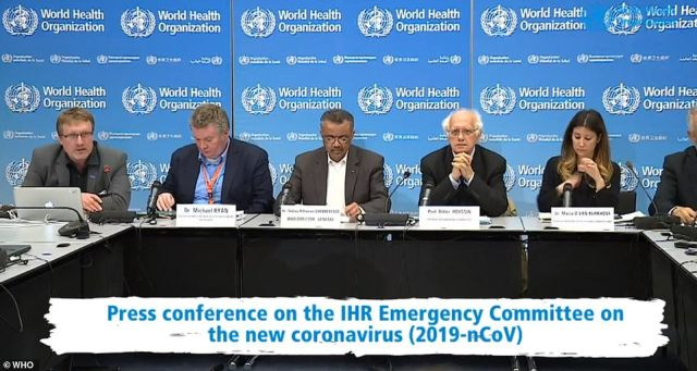 W czwartek Światowa Organizacja Zdrowia ogłosiła na konferencji prasowej (na zdjęciu), że ogłasza śmiercionośną epidemię koronawirusa jako globalny stan zagrożenia zdrowia