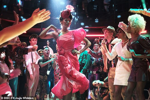 Those phrases are often used today in other shows like Pose (scene pictured)