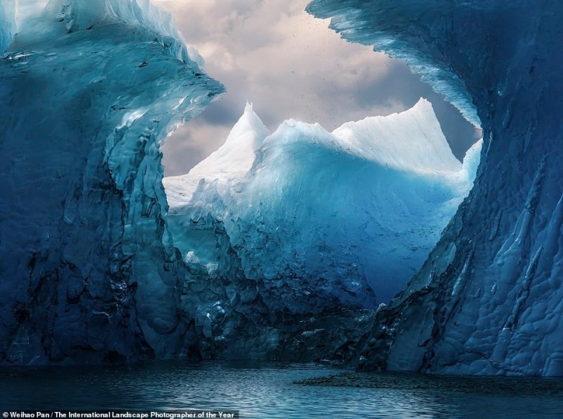 WeihaoPan from China took this icy shot in Southeast Alaska, the northern terminus of the Inside Passage cruise and shipping route