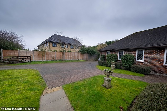 Neighbours have questioned by planning permission was given for the home in the first place