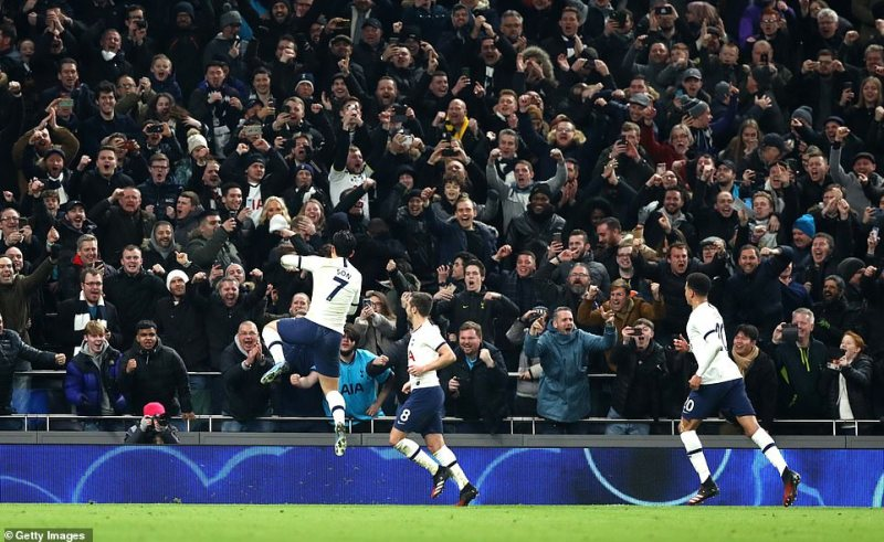 Son Heung-min scored an 88th-minute penalty to seal Tottenham's place in the FA Cup fifth round after a dramatic finale