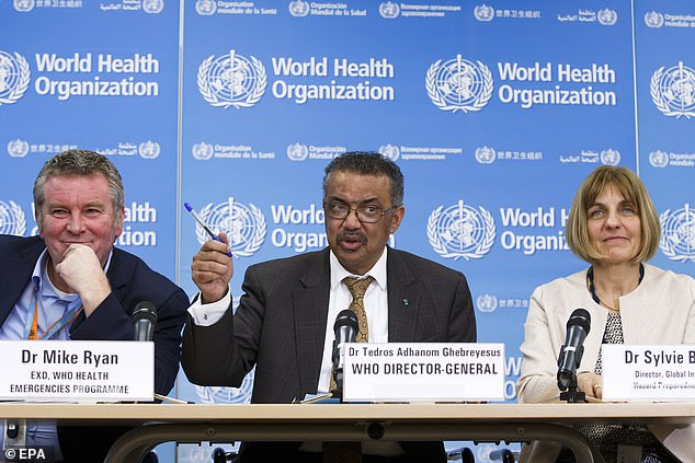 Dr Tedros Ghebreyesus, the director-general of the World Health Organization, yesterday said he was worried some countries' health systems were so poor they would not be able to detect cases of the virus if they did appear