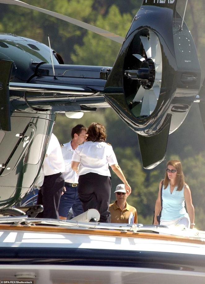 Gates, 64, is known to regularly take vacations onboard superyachts and would usually rent boats during summer trips to the Mediterranean, however this is the first time he has bought one. Here he is pictured along with Melinda in Turkey in 2005