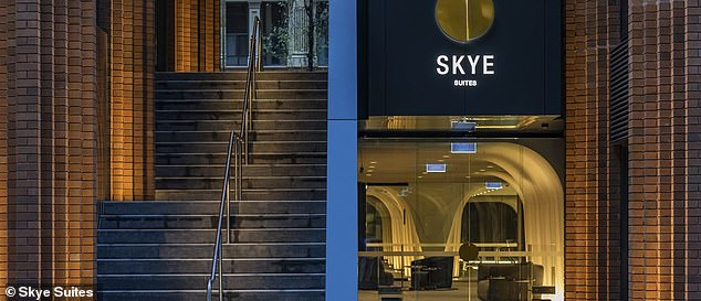 Would you live here? And after filming previous seasons at the Meriton Suites North Sydney, this year the newlyweds were housed at Skye Suites Sydney on Kent Street (pictured)