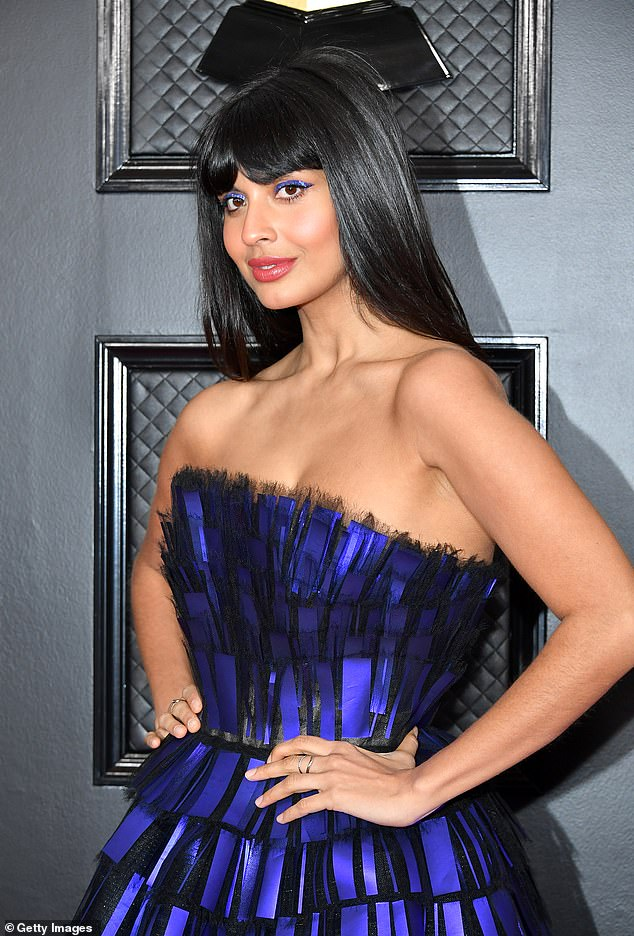 Actress Jameela Jamil has come under fire for eating peanut butter filled snacks, despite previously telling fans that she has a peanut allergy
