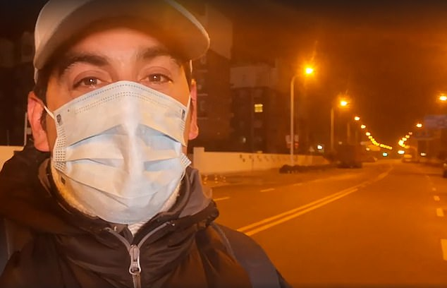 Mr Severino said many preventative measures are in place to stop the spread of the deadly disease, including being tested twice a day, wearing face masks and remaining indoors