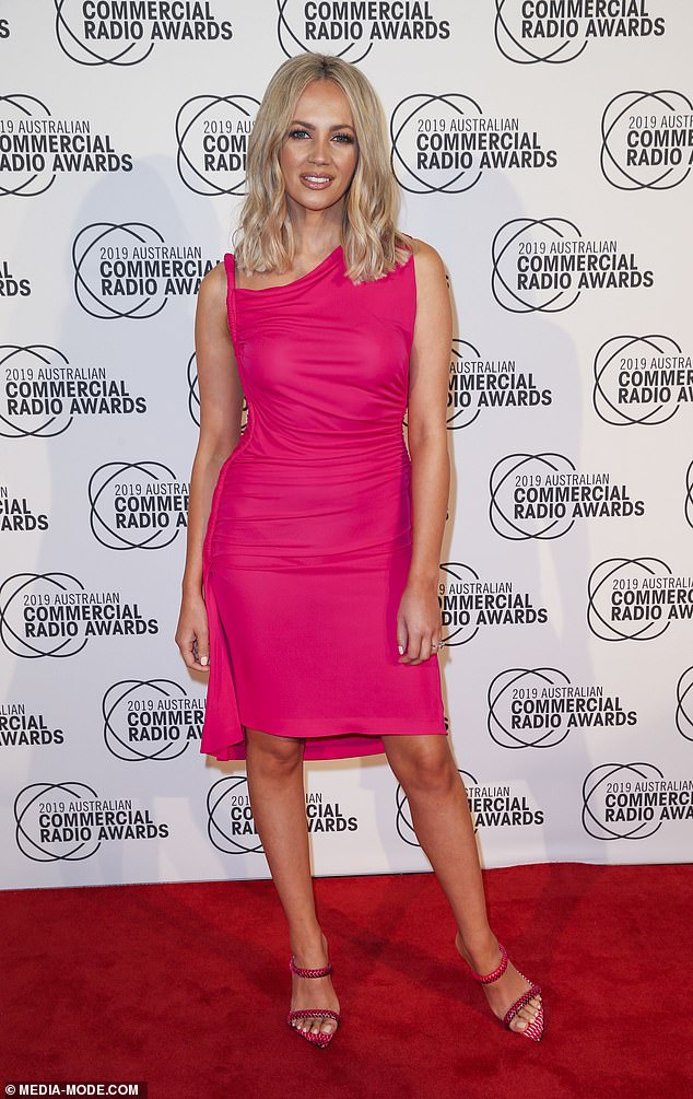 'Pink is a special to me': Samantha Jade (pictured) has opened up about the significance of the colour as she gears up to perform at Chandon Ladies Day next month