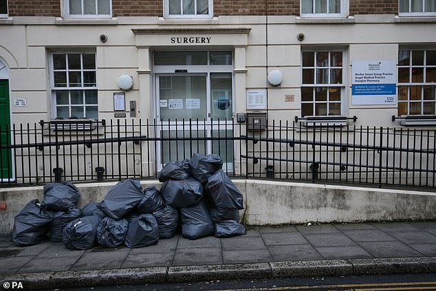 The Ritchie Street Health Centre in Islington has been closed for the day 'due to the coronavirus', according to the practice's website. It is not clear whether this is linked to the case announced yesterday