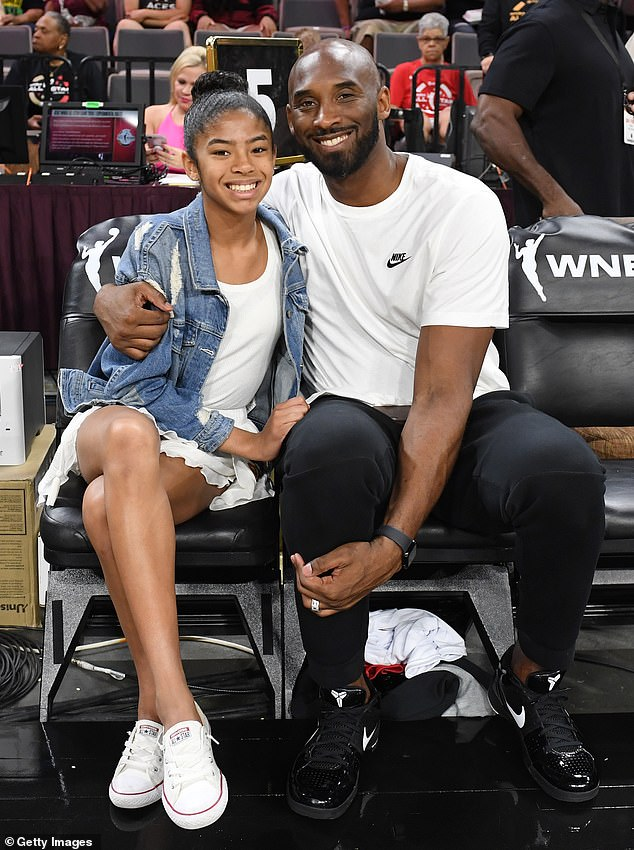 Their little girl: The name change honors late daughter Gianna who died in the tragic helicopter crash on January 26 alongside her father Kobe