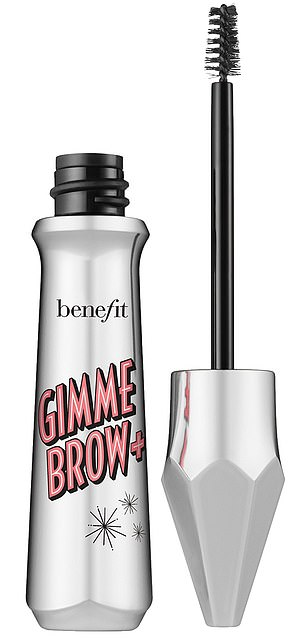 Options: Two of Bailey's favorite Benefit products are the Precisely, My Brow Pencil Ultra-Fine Shape & Define ($24) and the Gimme Brow + Volumizing Eyebrow Gel (pictured, $24)