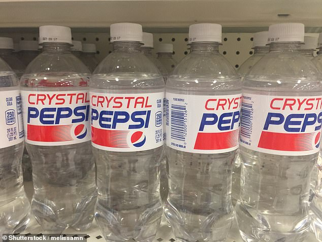 Nostalgia: Crystal Pepsi debuted in 1992 but was discontinued in 1993. It has since come back for limited runs a handful of times