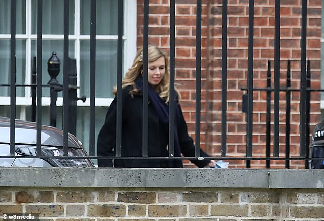 Miss Symonds has been keeping an increasingly low profile since the election victory, spending more time away from Downing Street and opting instead for the PM's remote Buckinghamshire home, Chequers
