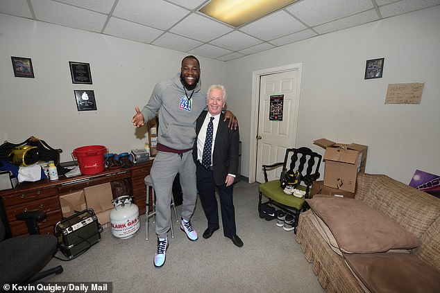 Wilder spoke to Sportsmail's Jeff Powell about home comforts in the build up to his next fight