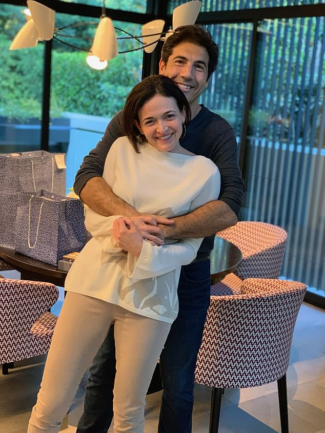 Leaning in:Sandberg said she helped plan her own engagement to her fiancé Tom Bernthal, explaining that they picked the weekend together and he planned the trip