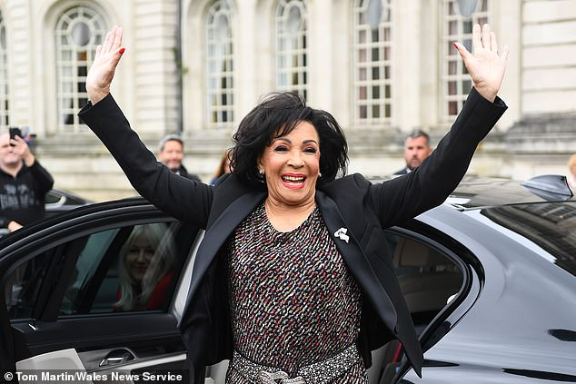 As one critic wrote, you can almost hear Shirley Bassey (seen above) snorting: 'Sing up!' But what Eilish has created with her co-writer brother Finneas is a song in her image