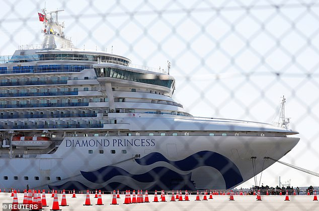 The number of cases on board the Diamond Princess liner has rise to 218 since it first docked