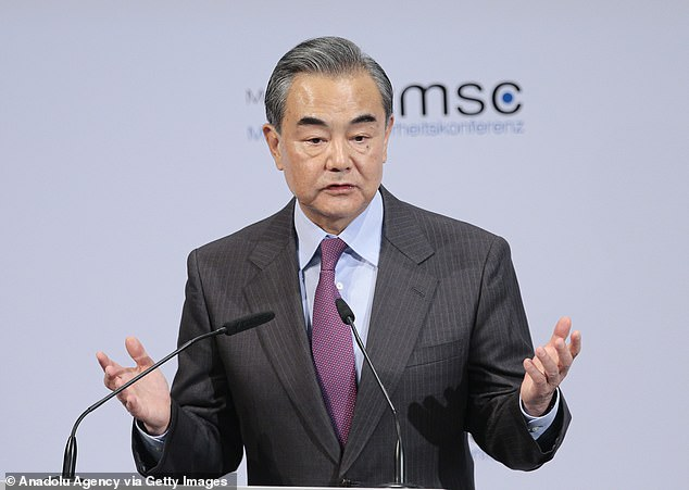 Chinese Foreign Minister Wang Yi hit back at Esper's comments, calling them 'lies'
