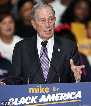 Mike Bloomberg (above)