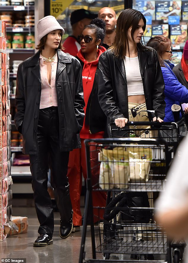Girls gotta eat! The trio of pals hit up a local Whole Foods so they could stock up on some snacks
