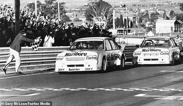 The finish of the 1984 James Hardie 1000 at Bathurst was won by Peter Brock in a VK Holden. Brocky went onto design special vehicles with crystals inside them. The idea never took off