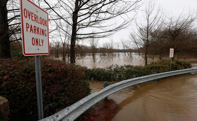 Mississippi Braces For Historic Flooding As The Pearl