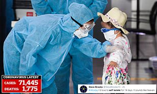 Britons mock dramatic Government coronavirus advice that could see ...