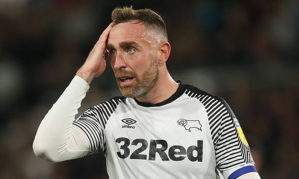 Richard Keogh to cancel TV gig after Derby warned their former captain not  to accept pundit role | Daily Mail Online