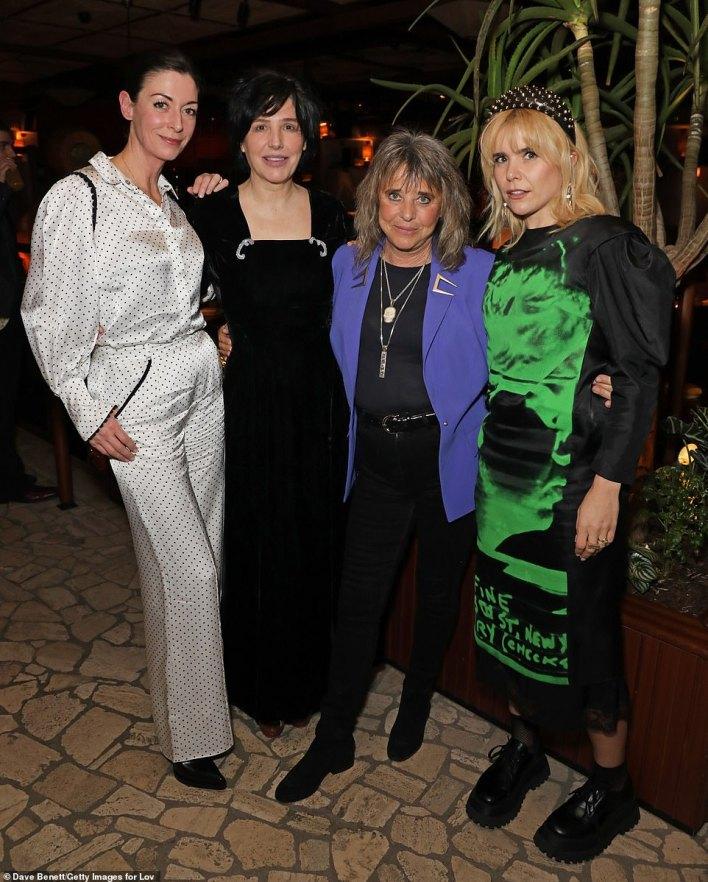 Event: Mary McCartney, Sharleen, Suzi Quatro and Paloma all looked radiant