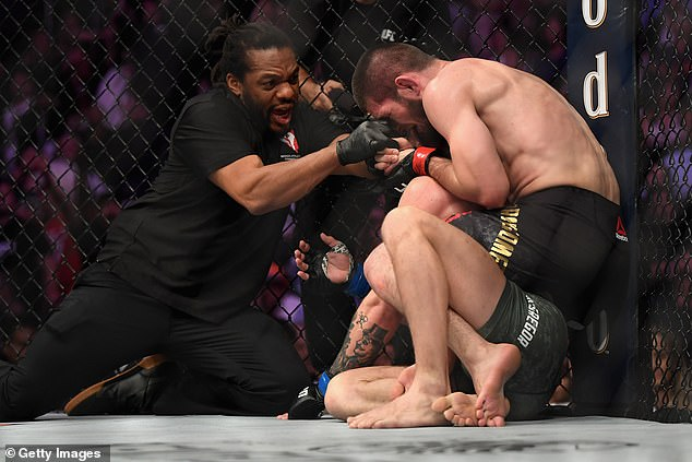 Khabib submitted McGregor in the main event of UFC 229 back in October of 2018