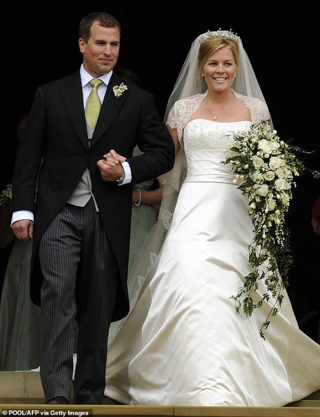 Everyone deserves to be happy, be they prince or pauper. But when it comes to love and life in general, it¿s one rule for the royals ¿ and another for the rest of us. (Autumn and Peter are pictured at St George's Chapel, Windsor, on their wedding day in 2008)