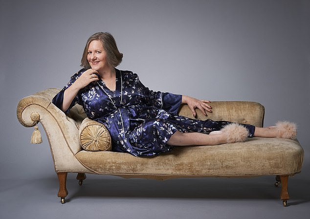 Helen Robinson, 56, (pictured) who ended a long-term relationship a year ago partly due to her partner's interest in sex waning while her own ardour was undiminished