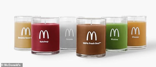 Burn them all!  Scents include bunions, ketchup, pickles, cheese, onions and '100% fresh beef'.