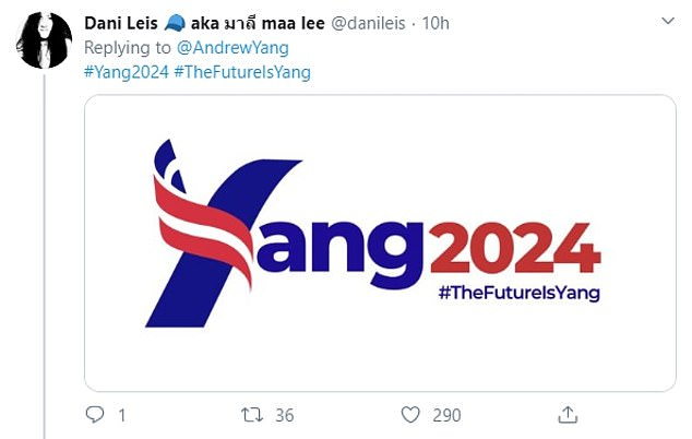 Many of the #YangGang responded to show their support today, altering the entrepreneur's 2020 campaign merchandise or remodeling it altogether