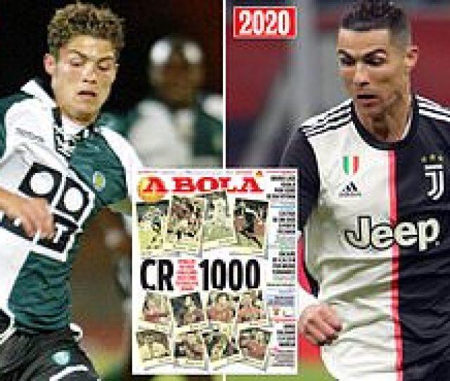 Cristiano Ronaldo Set To Make Th Senior Appearance Of His