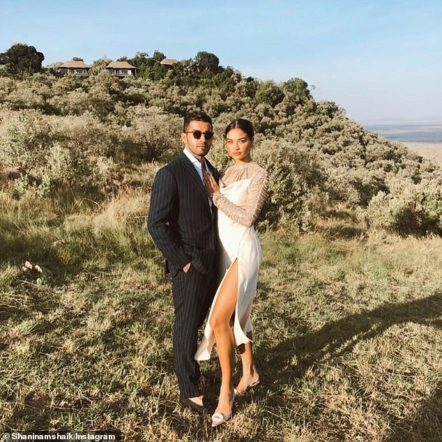 Going Instagram official: Shanina confirmed her relationship with Seyed Payam Mirtorabi in February by sharing a birthday tribute to him via Instagram