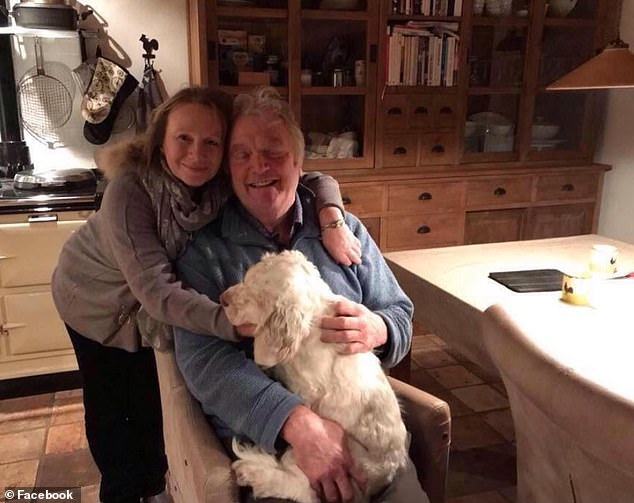 Neighbours of the couple, who lived in Nethercote Cottage, Winsford, Somerset, next to the Johnson family's 500-acre estate, say the couple's marriage was in crisis and Mrs Zurick had asked her husband for a divorce