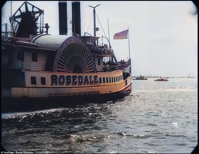 The 1911 video entitled 'A Trip Through New York City' has been brought back to life more than a hundred years later by artificial intelligence.This 'upscaled' footage was created using neural network-powered algorithms such as Topaz Labs' Gigapixel AI and DAIN