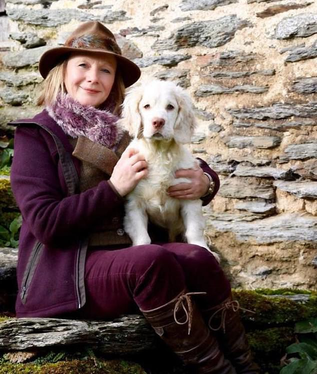 Paramedics were called to the cottage, on the Prime Minister's family estate in Somerset, on Saturday afternoon but were unable to save Mrs Zurick (pictured)