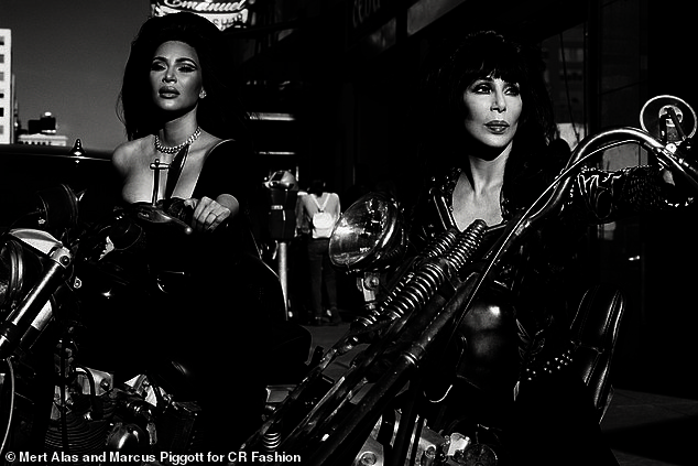Image result for Cher, Kim Kardashian West and Naomi Campbell pose in CR Fashion Book – and kill it!