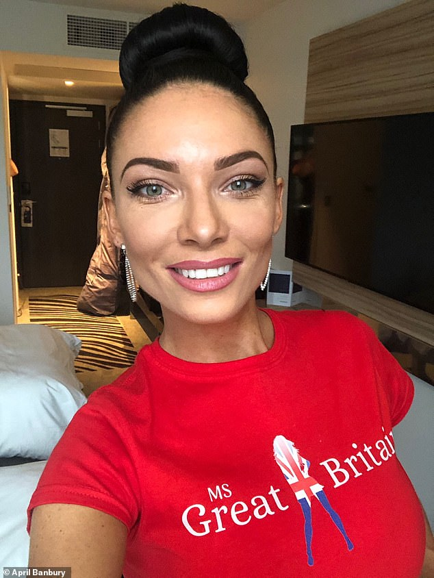 'I fought so hard and never gave up so to win the first ever Ms Great Britain and make history meant the world. I genuinely believe if you have a goal you should never give up. My dad was an Olympic champion and always taught me to go for my dreams' April added